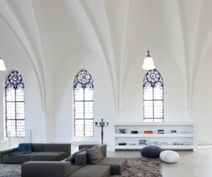 Church Conversion to a Modern House