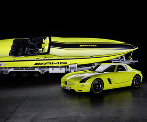 Cigarette AMG Electric Drive Concept