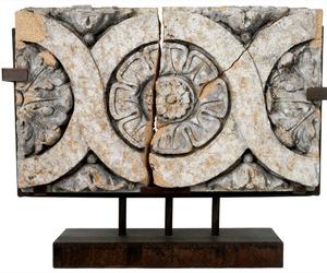 Circa 1920 Winkle Terra Cotta Building Facade Fragment