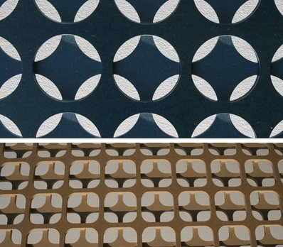 Circle And Square Screen Panels From Interlam