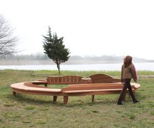 Circle Bench #1 by Nico Yektai