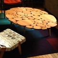 Circles Coffee Table by Michael Arras