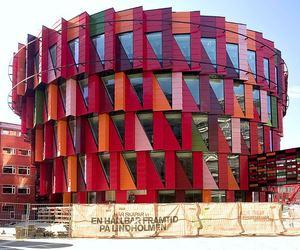 Circular Building 'Kuggen' Inspired by Cog Wheels