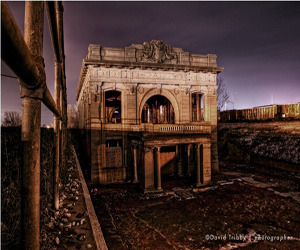 City Methodist Church, Gary Indiana by David Tribby