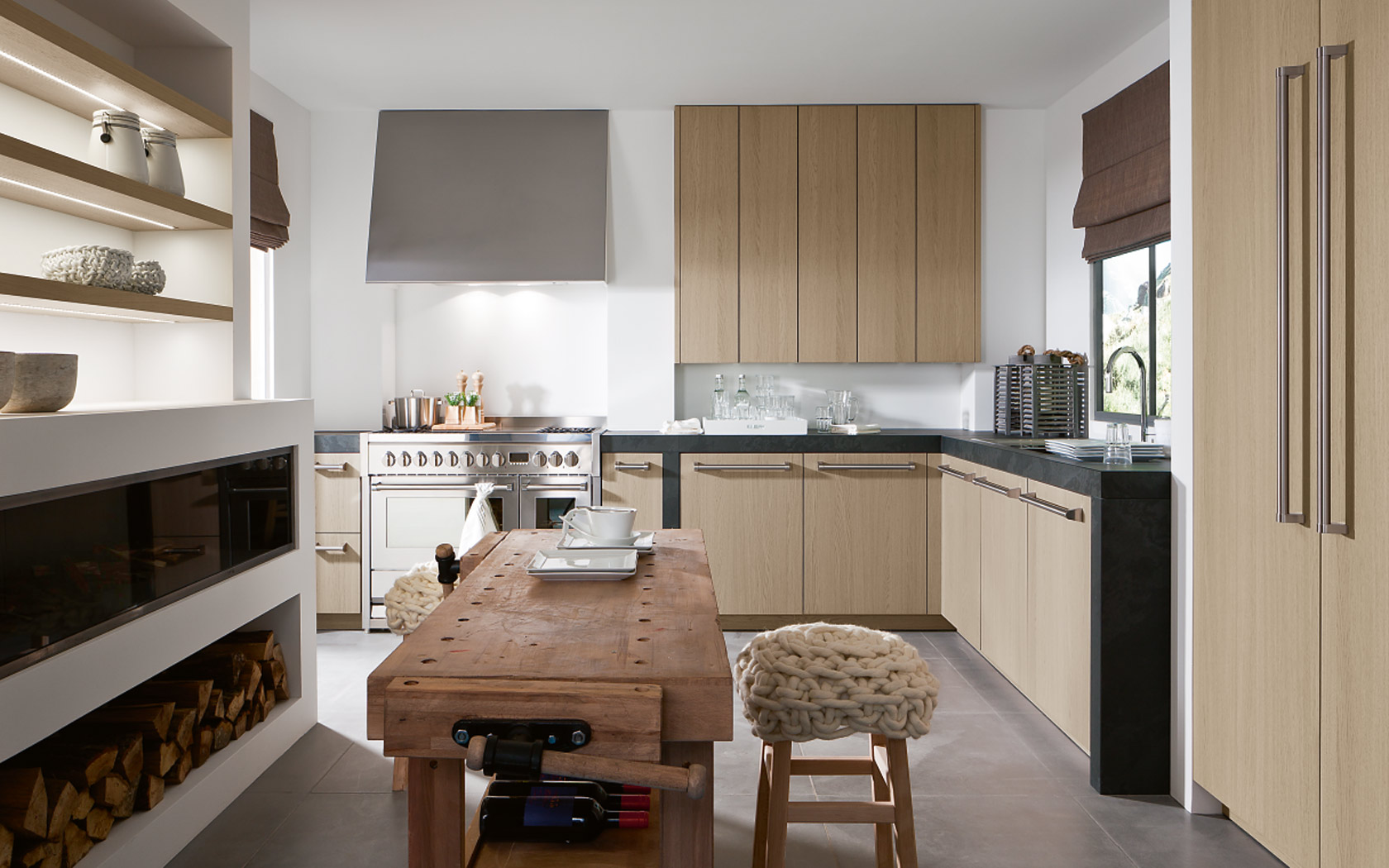 Citycountry kitchen by siematic for Siematic kitchen design