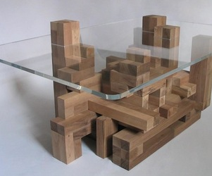 Cityscape Coffee Table by Xor Designs