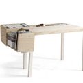 Clark Nude Desk by Llot Llov
