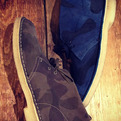 Clarks Desert Boots Camouflage Pack