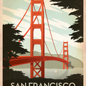 Classic American Travel Posters by Joel Anderson
