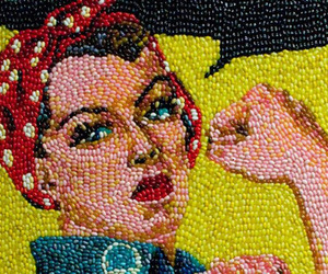 Classic Art Recreated Using Thousands Of Jelly Beans