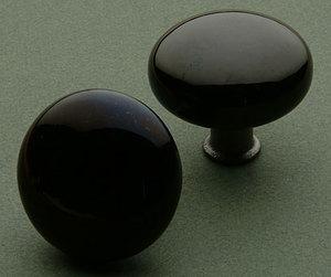 Classic Black Door Knobs