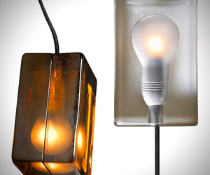 Classic Block Lamp by Finland Based Designer