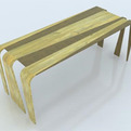 Modern Style Dining Table Made on Differents Materials