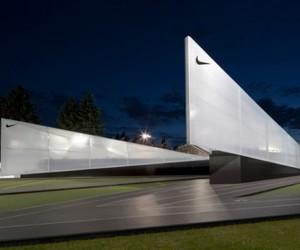 Classy Nike Camp Victory Pavilion by Skylab Architecture
