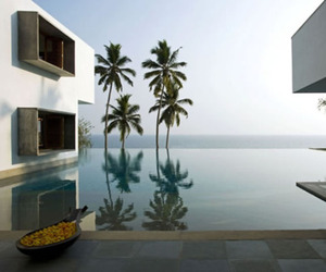 Cliff House in Kerala, India