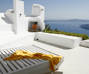 Cliffside Santorini Villa