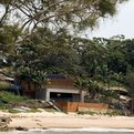 Clinton Murray's Gunyah beach house in Bundeena, Australia