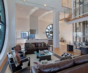 Clock Tower Penthouse in Brooklyn, New York
