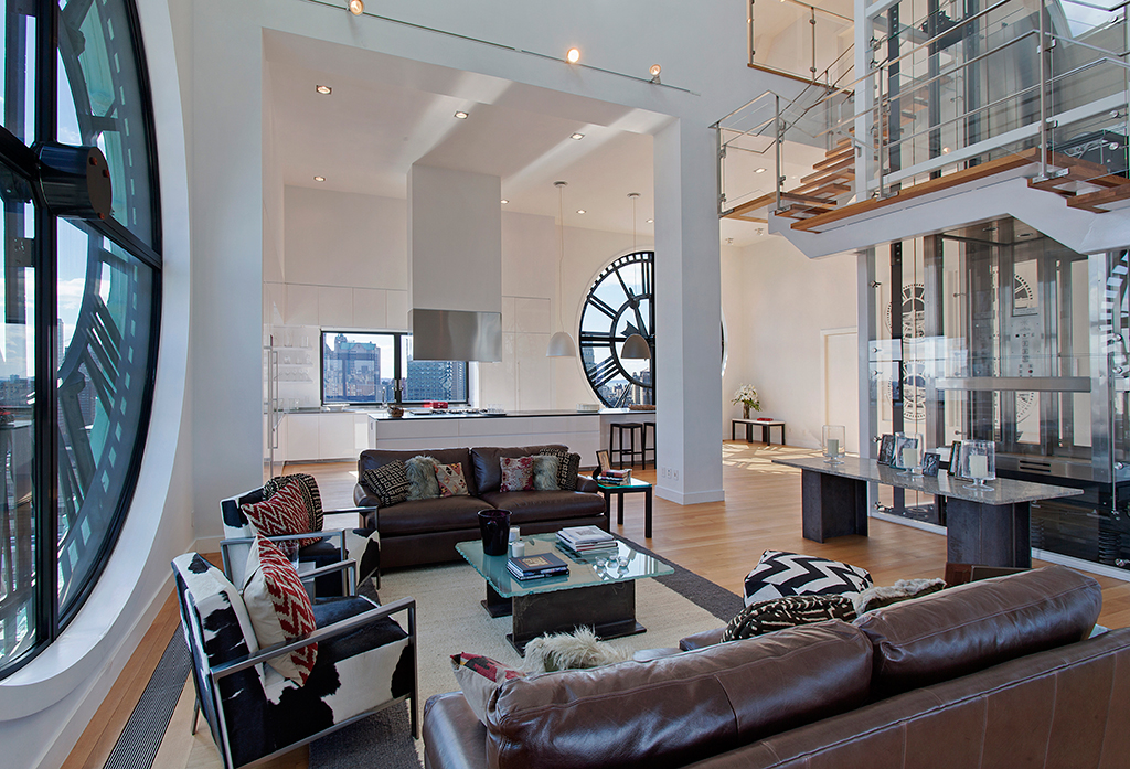 Clock Tower Penthouse In Brooklyn New York