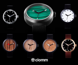 Clomm Watches Terra Firma Collection