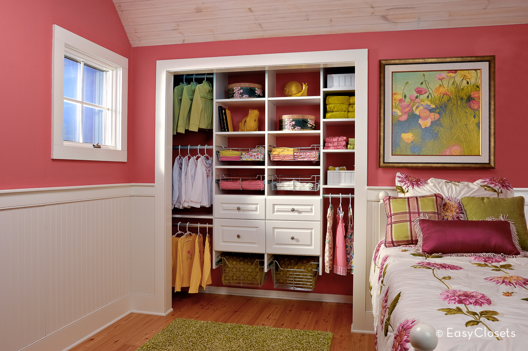 Closet organization by easy closets for Bedroom closets designs