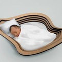 Cloud Baby Crib by Sora Design