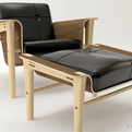 Club chair by Daniel Edwards