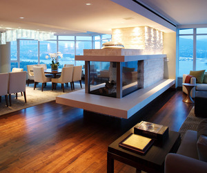 Coal Harbour Penthouse by Robert Bailey Interiors