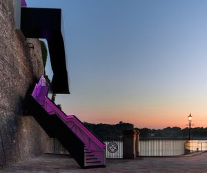 Coast Path Staircase at Royal William Yard
