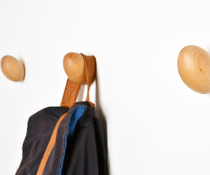Coat Eggs, Wooden Eggs Coat Hanger