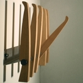 Coat rack by Yodo Kurosawa