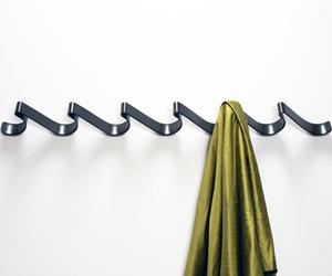 Coat Rack by Iron Design Company