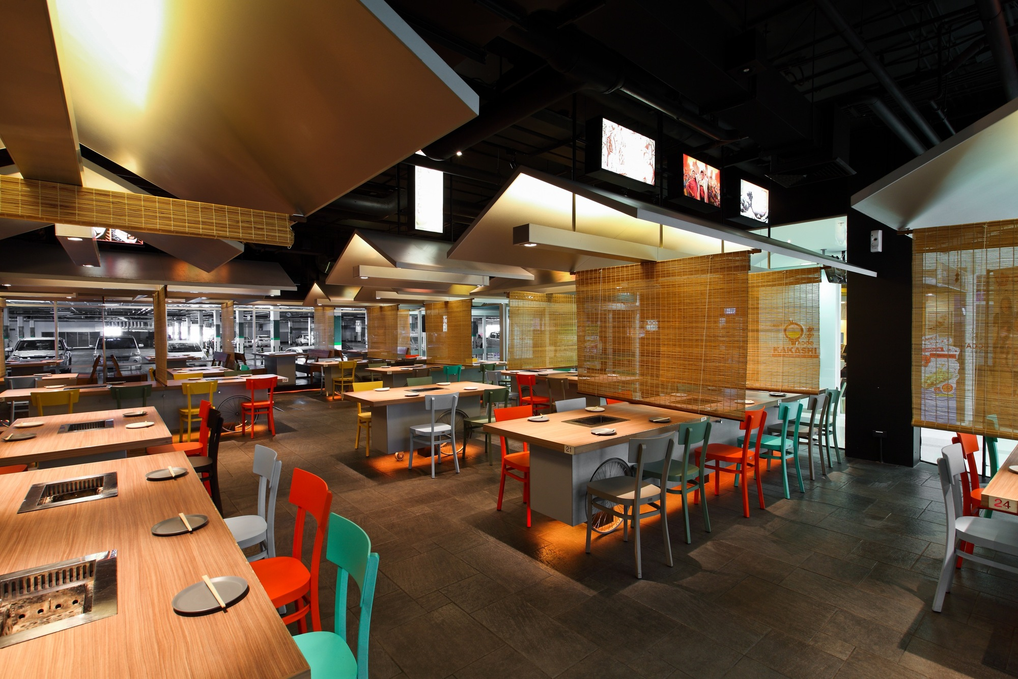 Coca grill restaurant by integrated field