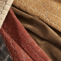 Cocco, Embossed Suede | Cortina Leathers