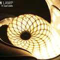 Cocoon Lamp by Voxel