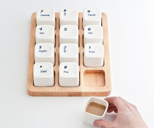 Coffee Cups- Inspired by the Apple Computer Keyboard