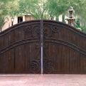 Colletti Design Iron Driveway Gates