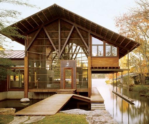 Colorado River House By Lake Flato