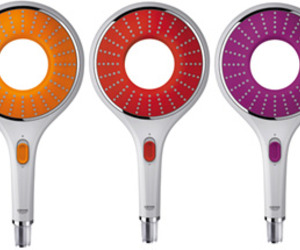 Colored Shower Heads by Grohe