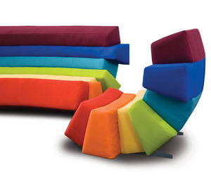 Colorful and Comfortable Furniture by Lubo Majer