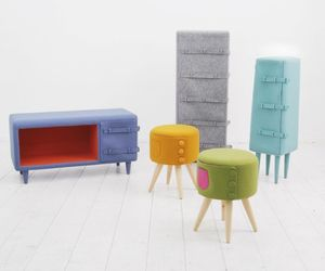 Colorful Dressed Up Furniture