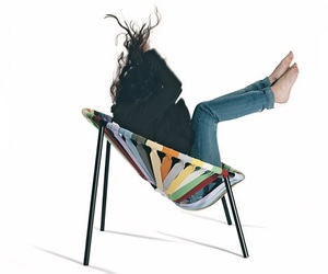 Colorful Elastic Chair by Velichko Velikov