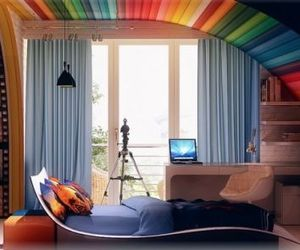 Colorful Kids Room Interiors