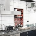 Colorful Kitchen Storage
