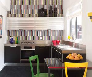 Colorful Modern Kitchen