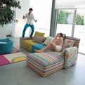 Colorful Sofa Kube by ZeroTreArchitetti