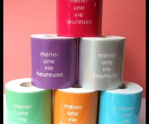 Colorful Toilet Roll Covers