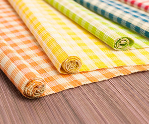Colourful Bamboo Placemats
