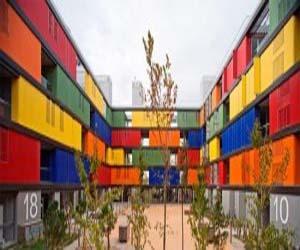 Colourful Modernism's Apartment Building