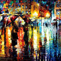 Colourful Oil Paintings by Leonid Afremov